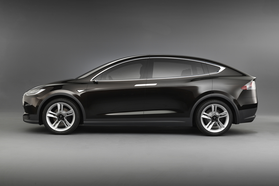 Volvo concept truck car body design - 2015 Tesla Model X Electric Crossover Will Be All Wheel