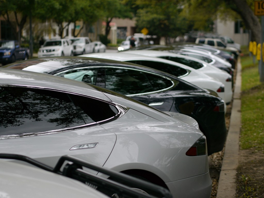 Image Tesla Owners Supporters Gather In Statehouse In