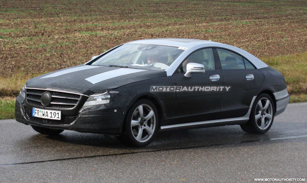 The 2011 Mercedes-Benz CLS will be launched late next year.