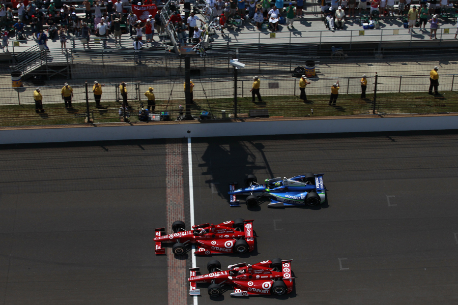of the 96th Indy 500 - Photo courtesy IZOD IndyCar Series/LAT USA