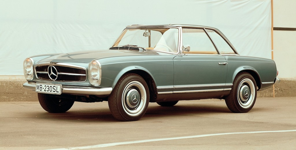 Image the mercedes benz w113 39 pagoda roof 39 230 sl image for Mercedes benz 280sl pagoda