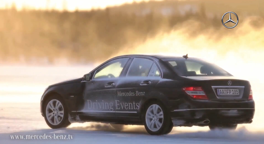 Mercedes wants to teach you to drive in snow too video for Mercedes benz tysons hours