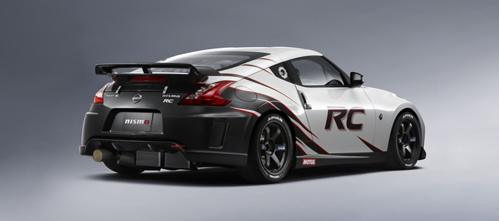 370z nismo rc turnkey race car available for customer purchase for Nissan motors customer service