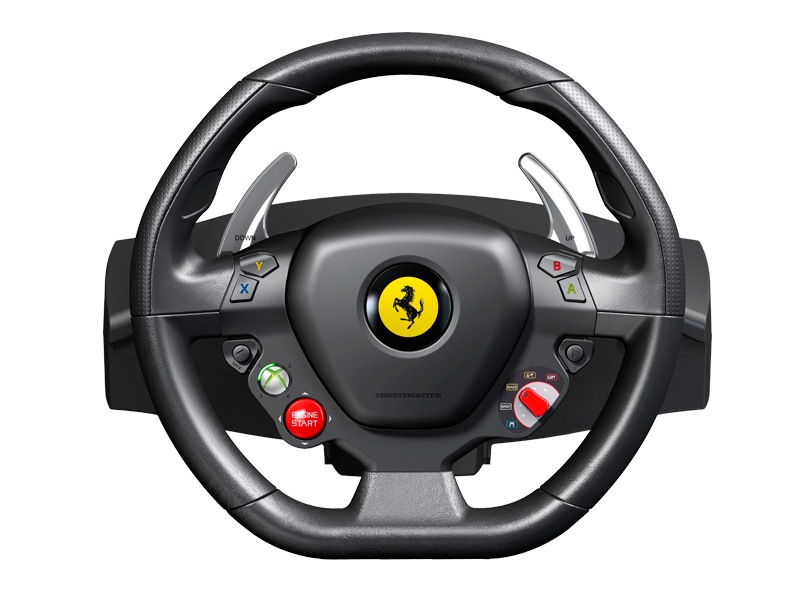 Control Your Xbox 360 With A Ferrari 458 Steering Wheel