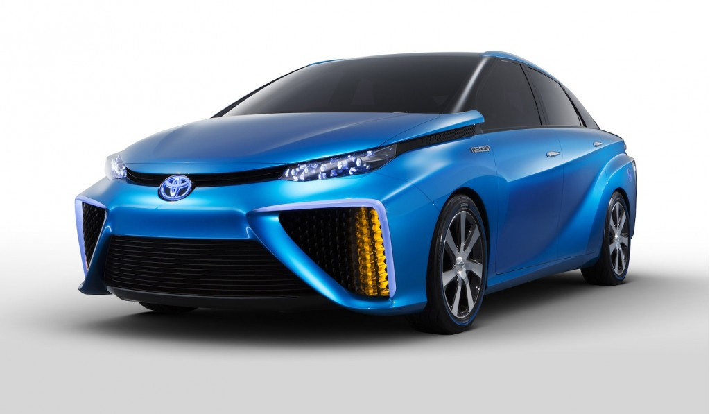 Toyota Fcv Concept Previews Fuel Cell Car Coming In 2015