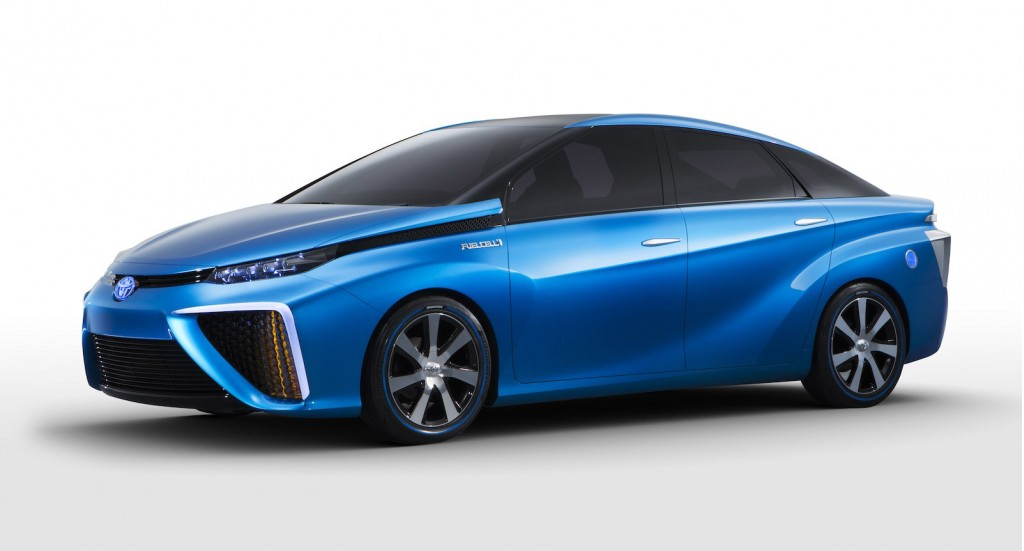 Hydrogen Fuel Cell Cars To Come From Toyota Hyundai Honda