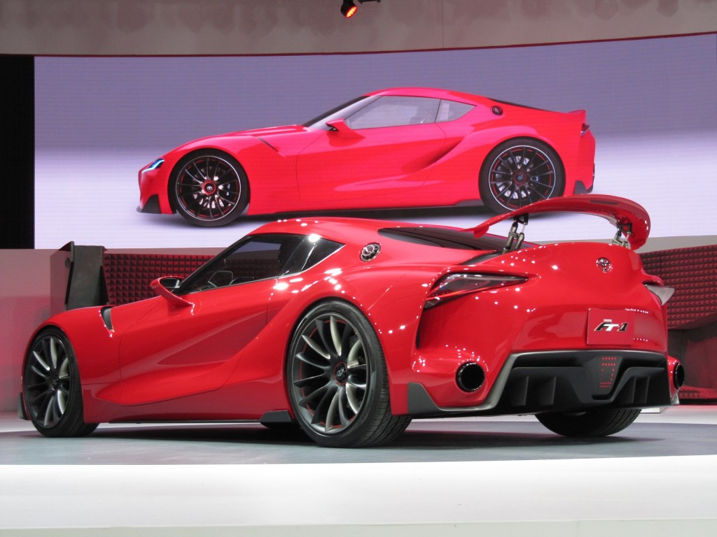 Toyota FT 1 Concept Supra Successor Hinted At Detroit Show