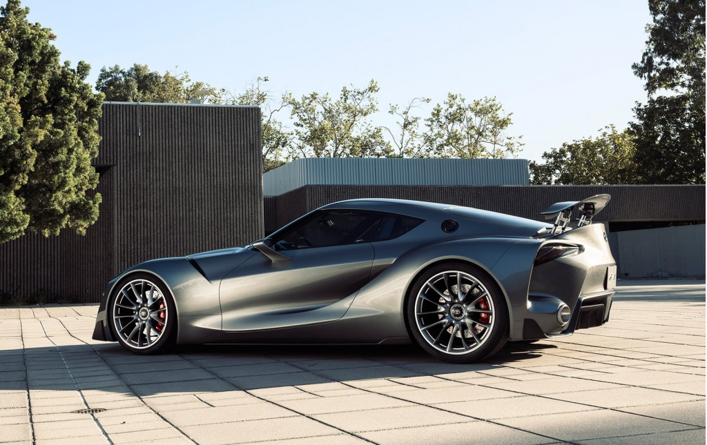 Toyota ft 1 Hints at a New