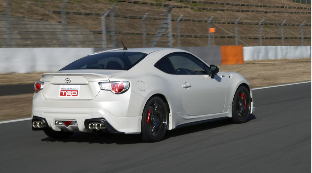 toyota gt 86 with trd exhaust video. Black Bedroom Furniture Sets. Home Design Ideas