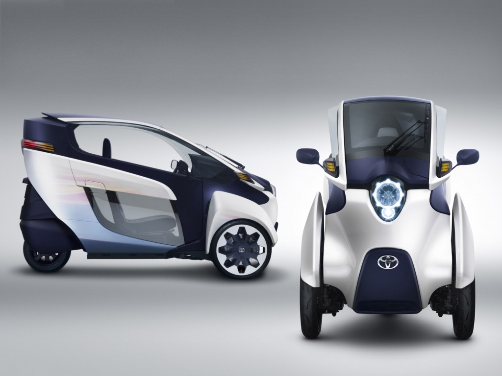 Toyota i-Road Trials Start In Tokyo: Another Electric Not ...