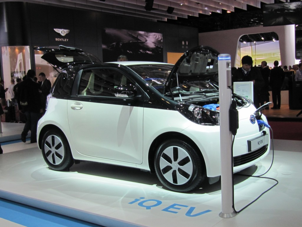 Toyota IQ EV: The Electric Car You'll Never See (Live Photos