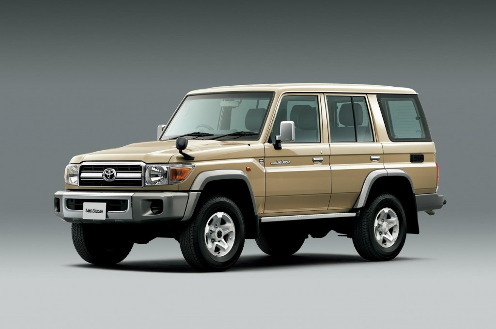 Toyota Surprises With Land Cruiser 70 Anniversary Re-Release: Video