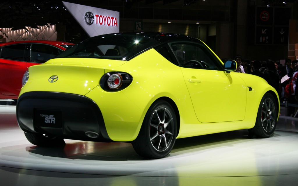 toyota previews new entry level sports car with s fr concept live