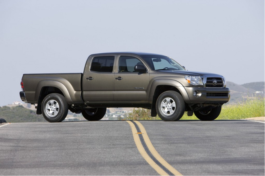 2010 Toyota Tacoma 4wd Trucks Recalled For Driveshaft Issue