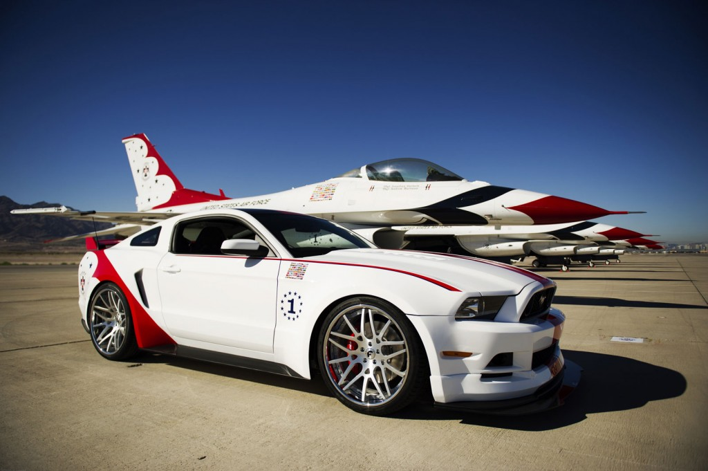 U S Air Force Thunderbirds Edition 2014 Ford Mustang Gt