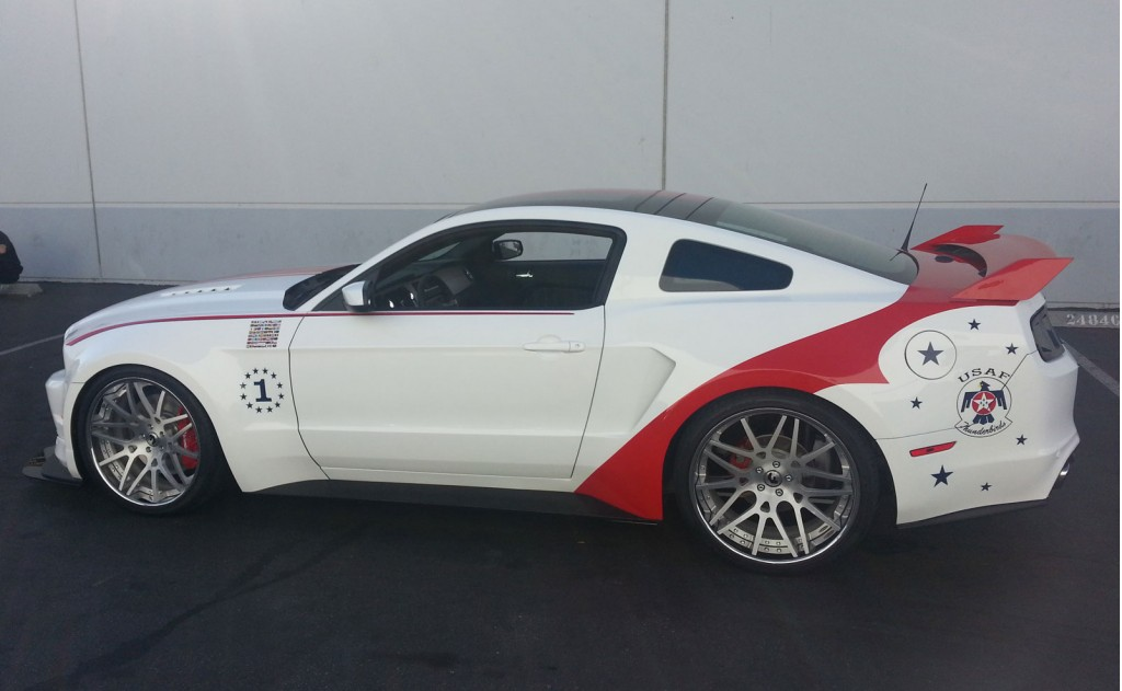 2014 thunderbirds ford mustang gt - general discussion - arc