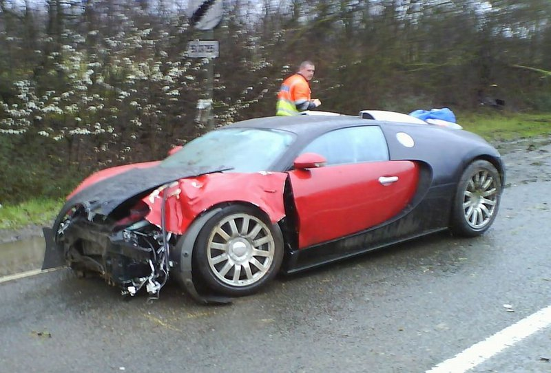2011 ford gt40 for sale - First Bugatti Veyron Crash