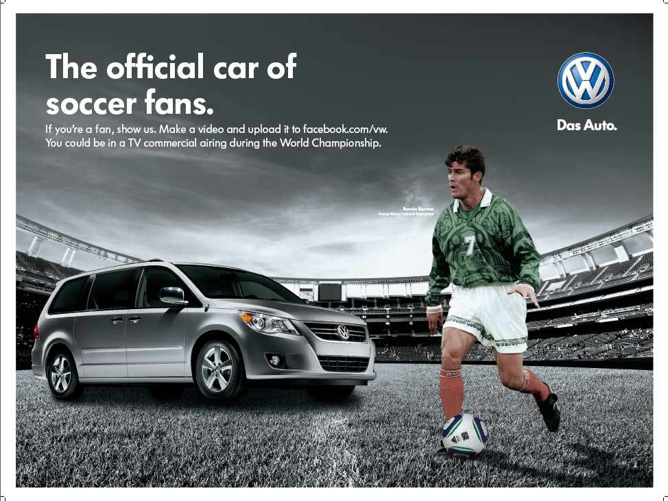 100313596 volkswagen Ad For The 2010 World Cup on 2012 volkswagen tiguan