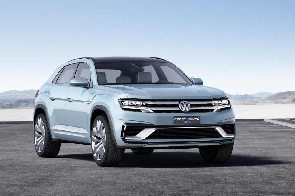 volkswagen previews new crossover with cross coupe gte concept. Black Bedroom Furniture Sets. Home Design Ideas