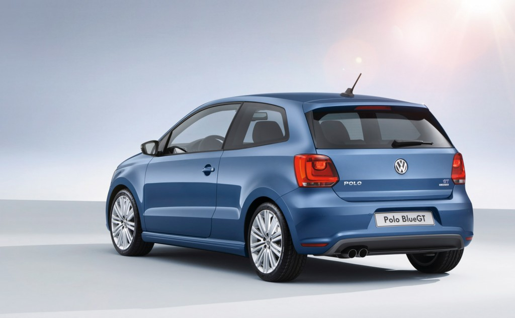 Volkswagen Polo Blue GT Is First Car With Four-Cylinder ...