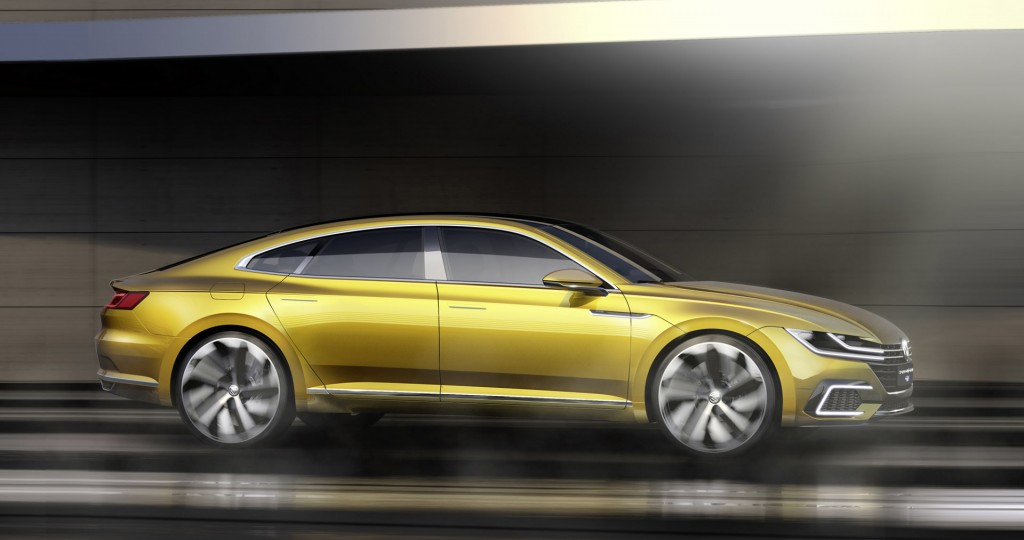 vw previews new design language next cc with sport coupe. Black Bedroom Furniture Sets. Home Design Ideas