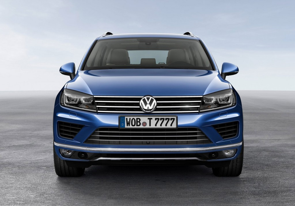 2015 volkswagen touareg set for 2014 beijing auto show debut. Black Bedroom Furniture Sets. Home Design Ideas