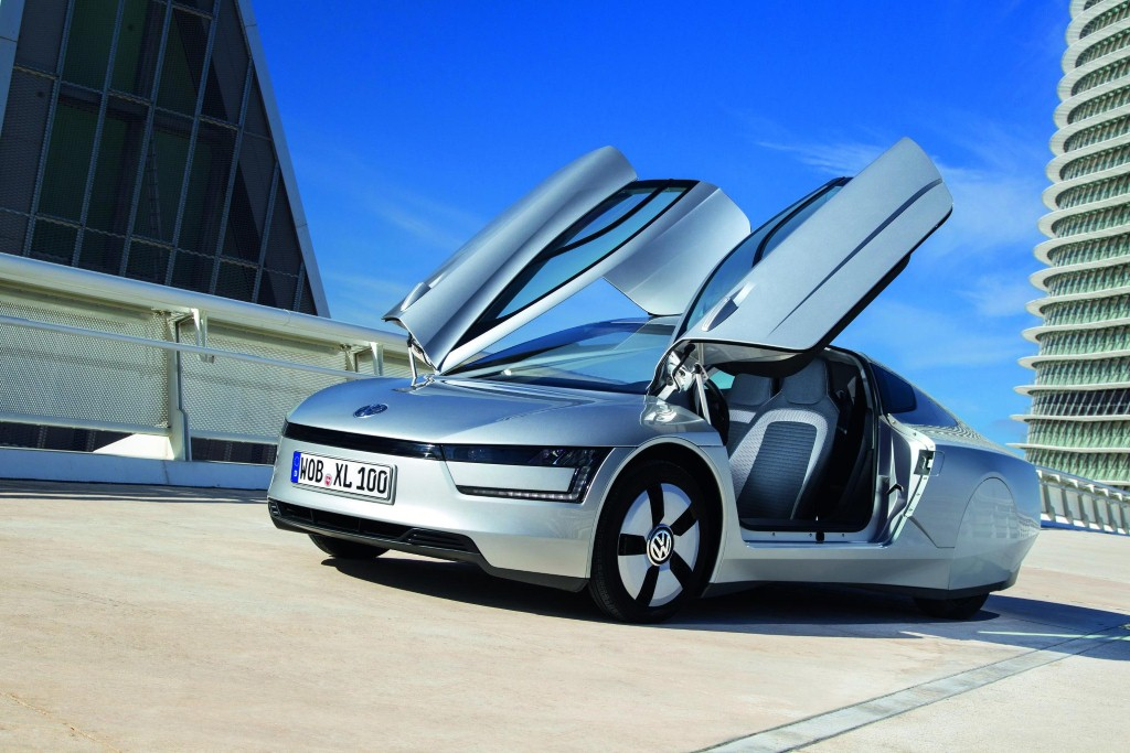 2014 volkswagen xl1 the 261 mpg car debuts. Black Bedroom Furniture Sets. Home Design Ideas