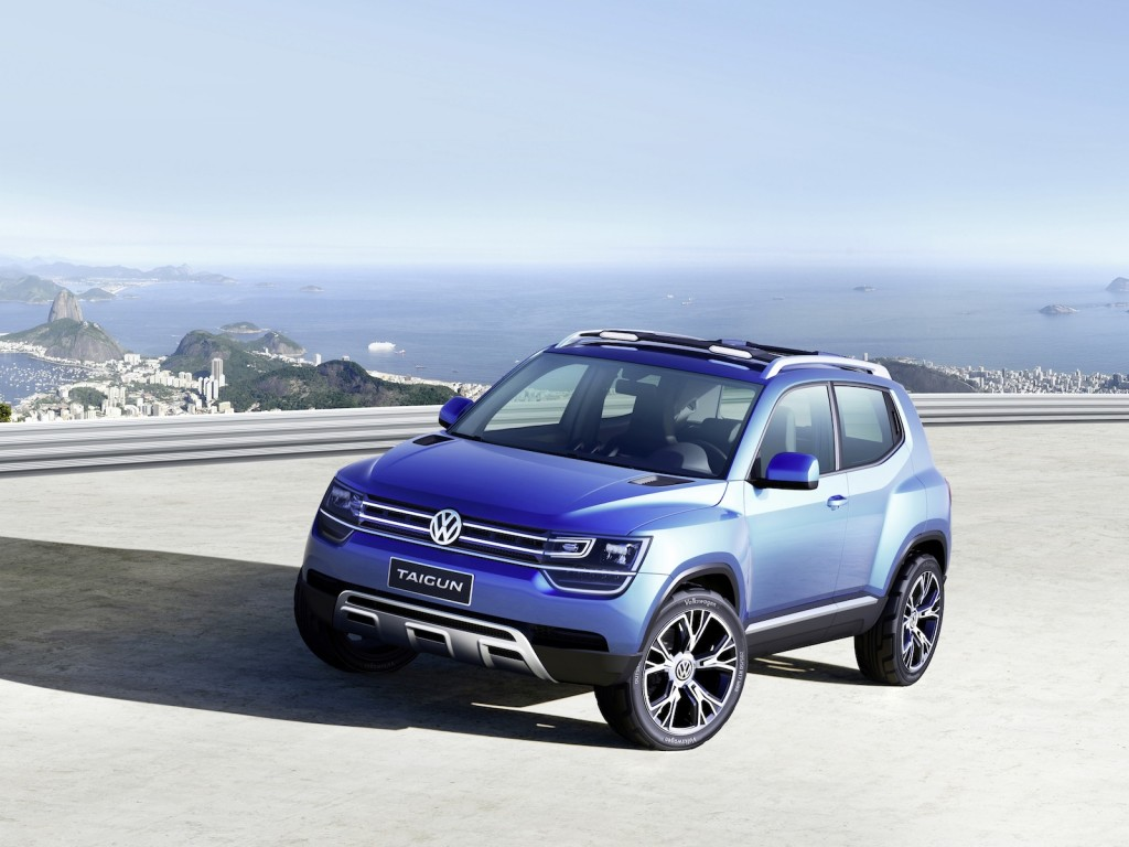 vw debuts taigun crossover concept. Black Bedroom Furniture Sets. Home Design Ideas