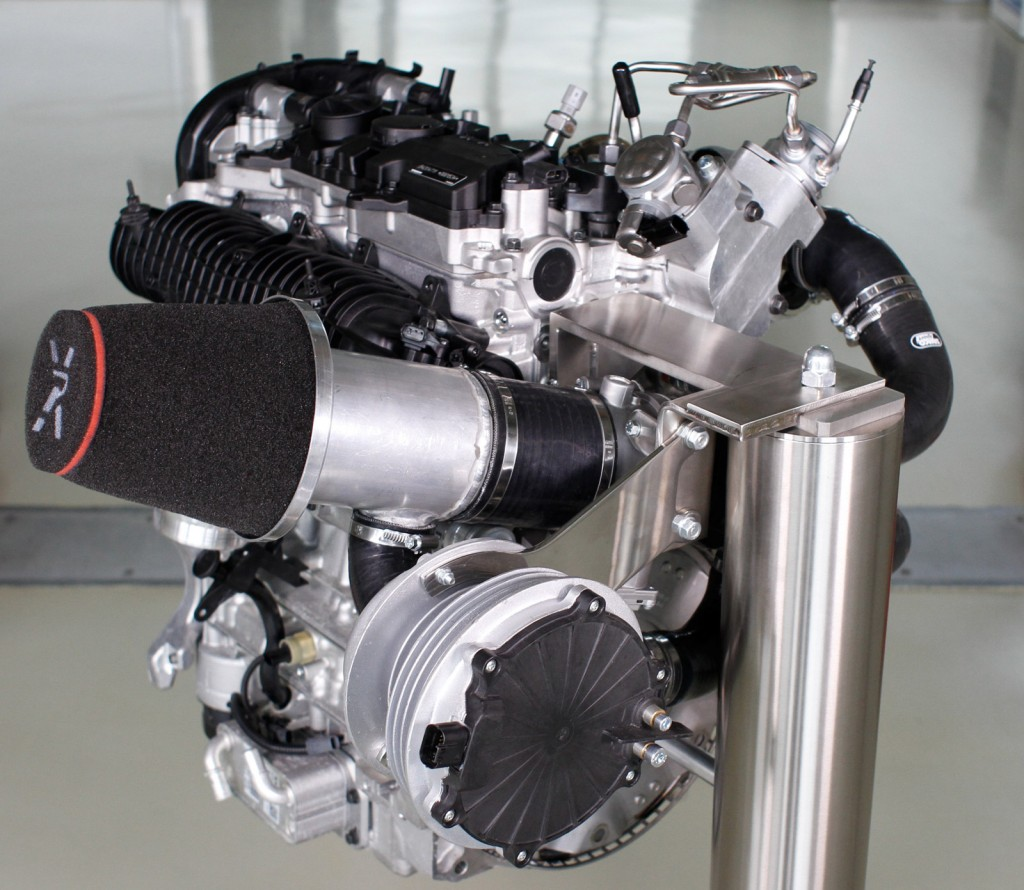 Electric Hybrid Turbocharger: Volvo Drive-E Engine With Electrically-driven Turbocharger