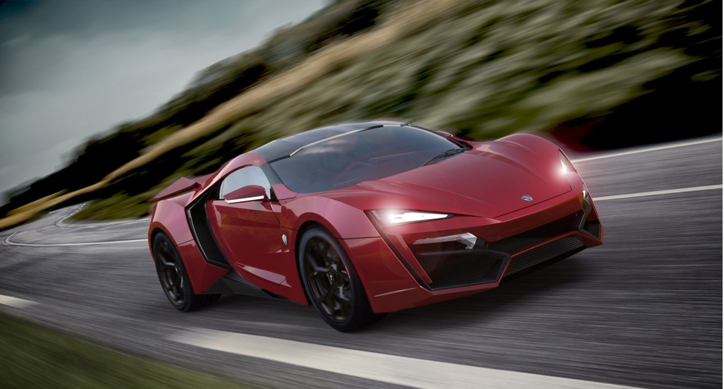 Red Lykan HyperSport from Furious 7