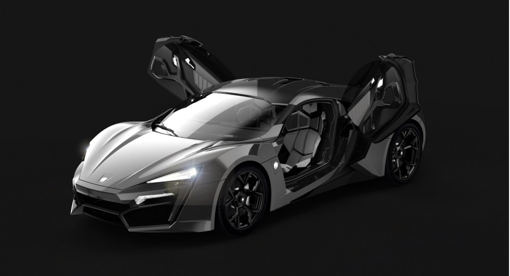 3 4 million lykan hypersport debuts in production trim at for A m motors