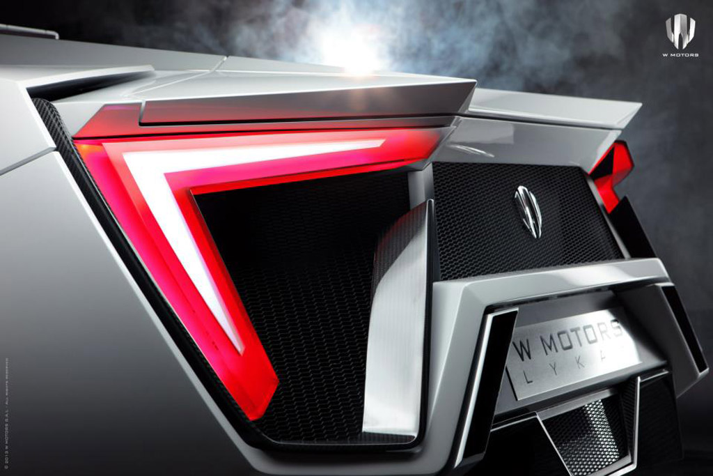 Arabia S First Supercar The W Motors Lykan Hypersport