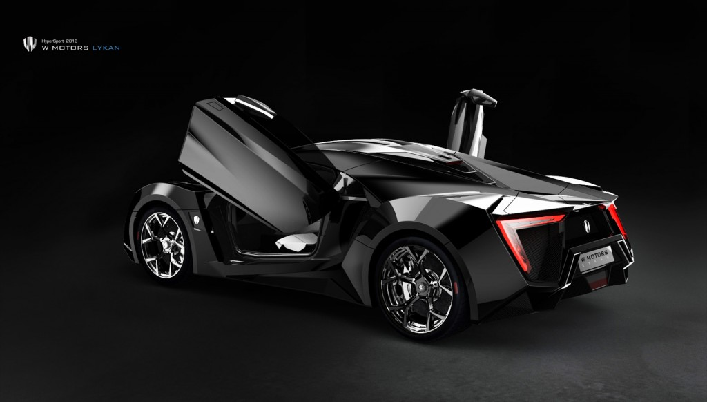 3 4 Million W Motors Lykan Hypersport Gets Suicide Doors