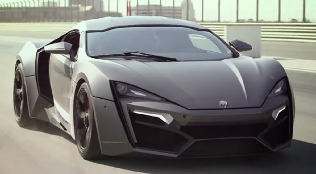 W Motors' $3.4 Million Lykan Hypersport Takes To The Track ...