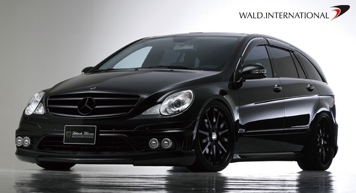 wald int 39 l black bison mercedes benz r class cyberpunk. Black Bedroom Furniture Sets. Home Design Ideas