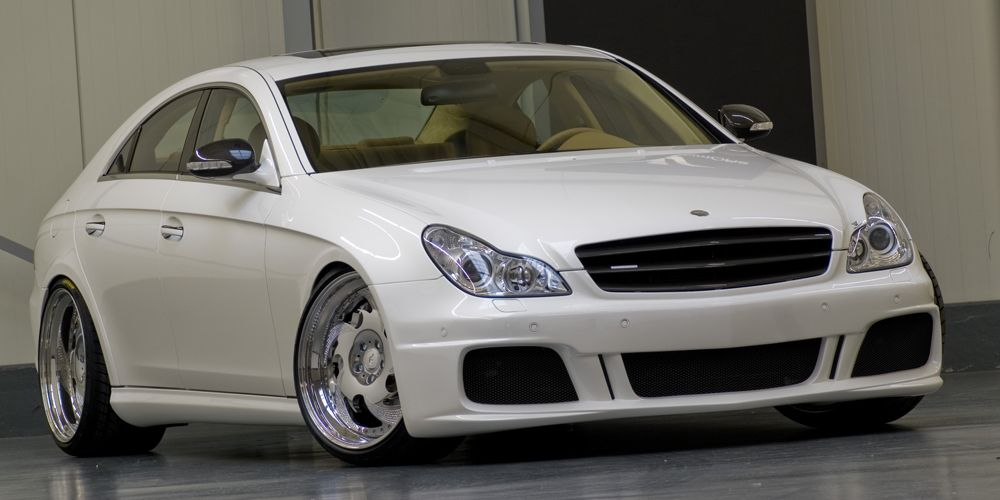 600hp mercedes benz cls55 amg by wam for Mercedes benz cls55