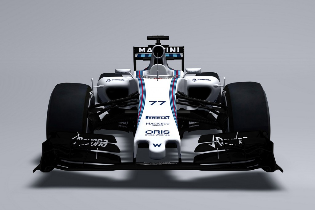 williams is first to reveal its 2015 formula one car. Black Bedroom Furniture Sets. Home Design Ideas