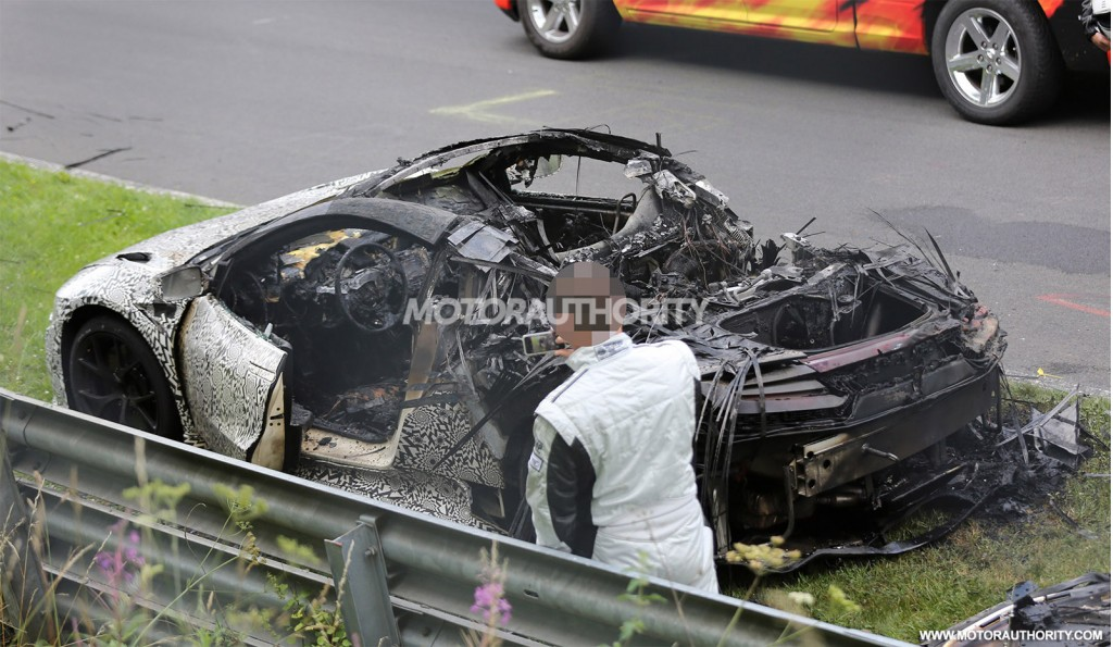2016 Acura NSX Burns To The Ground During 'Ring Testing: Update