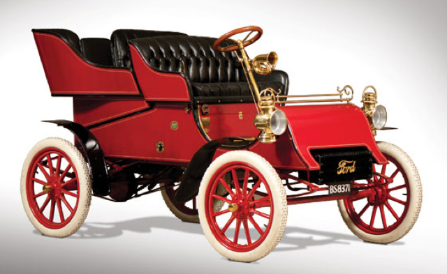 Oldest Ford Motor Company Car To Cross The Block Again