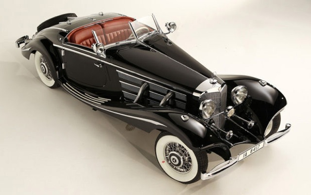 1936 Mercedes Benz 540k Special Roadster Could Set Auction