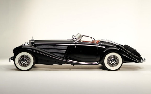 1936 Mercedes Benz 540k Special Roadster Could Set Auction Price Record