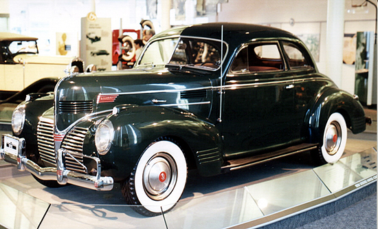 The 1939 Dodge Hayes coupe.
