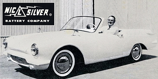 1959 Pioneer Electric Car Prototype With Nic L Silver