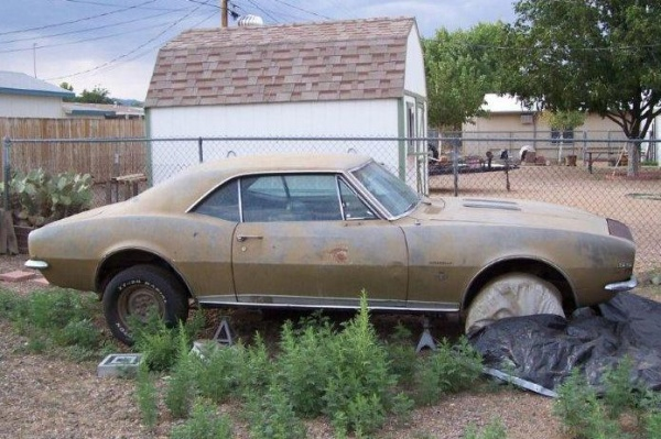 1967 Camaro RS/SS survivor - image: Barn Finds