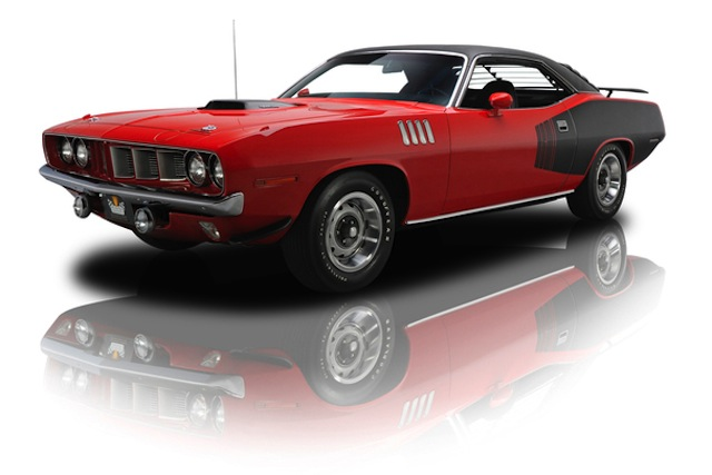1971 Plymouth Hemi 'Cuda, for sale on JamesList - image: RK Motors via JamesList