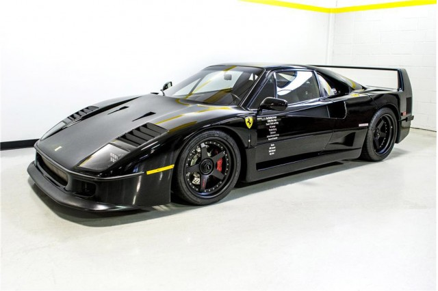 1991 ferrari f40 restored on television series fast n. Black Bedroom Furniture Sets. Home Design Ideas