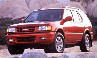 Locate Isuzu Rodeo Listings Near You