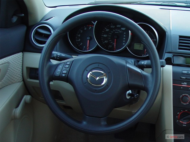 image 2005 mazda mazda3 4 door sedan i auto steering wheel size 640 x 480 type gif posted. Black Bedroom Furniture Sets. Home Design Ideas