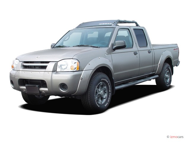 Image 2004 Nissan Frontier 4wd Xe Crew Cab V6 Auto Sb Angular Front Exterior View Size 640 X