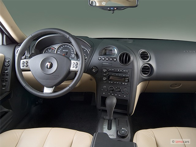 Image 2006 Pontiac Grand Prix 4 Door Sedan Gxp Dashboard